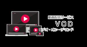 動画配信サービス(VOD:ビデオ・オン・デマンド)