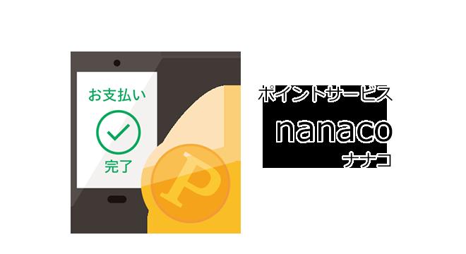 nanaco(ナナコ)とは?